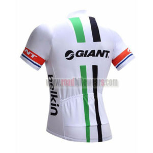 2017 Team GIANT Rabobank Riding Jersey Maillot Shirt White