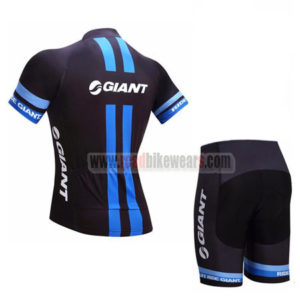 2017 Team GIANT Racing Kit Black Blue