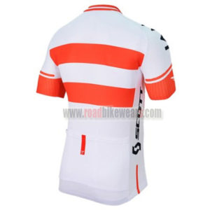 2017 Team IAM Austria Bicycle Jersey Maillot Shirt White Red