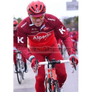 2017 Team KATUSHA Alpecin Cycling Long Suit Red