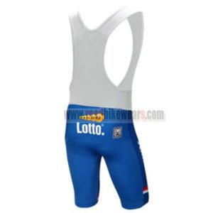 2017 Team LOTTO JUMBO Netherlands Riding Bib Shorts Bottoms Blue