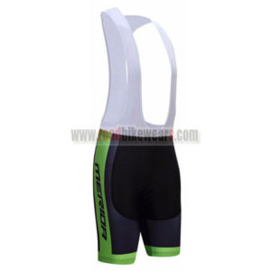 2017 Team MERIDA Bicycle Bib Shorts Bottoms Black Green