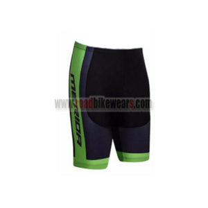 2017 Team MERIDA Bicycle Shorts Bottoms Black Green