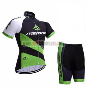 2017 Team MERIDA Bike Kit Black Green