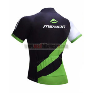 2017 Team MERIDA Biking Jersey Maillot Shirt Black Green