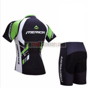 2017 Team MERIDA Biking Kit Black Green