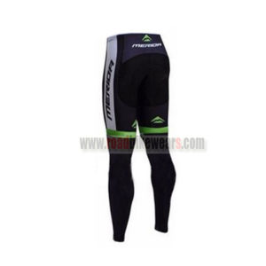 2017 Team MERIDA Biking Long Pants Tights Black Green