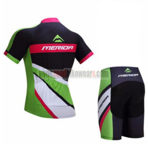 2017 Team MERIDA Biking Set Black Green Red