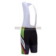 2017 Team MERIDA Cycle Bib Shorts Bottoms Black Green Red