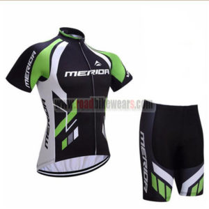 2017 Team MERIDA Cycle Kit Black Green