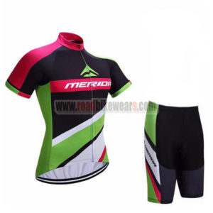 2017 Team MERIDA Cycle Set Black Green Red