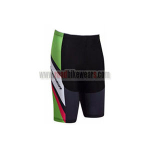 2017 Team MERIDA Cycle Shorts Bottoms Black Green Red