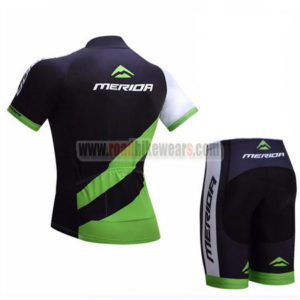 2017 Team MERIDA Racing Kit Black Green