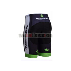 2017 Team MERIDA Racing Shorts Bottoms Black Green