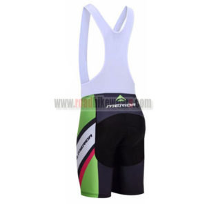 2017 Team MERIDA Riding Bib Shorts Bottoms Black Green Red