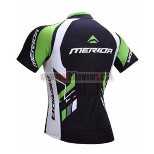 2017 Team MERIDA Riding Jersey Maillot Shirt Black Green