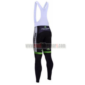 2017 Team MERIDA Riding Long Bib Pants Tights Black Green