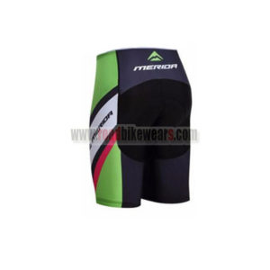 2017 Team MERIDA Riding Shorts Bottoms Black Green Red