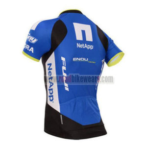 2017 Team NetApp Biking Jersey Maillot Shirt Black Blue White