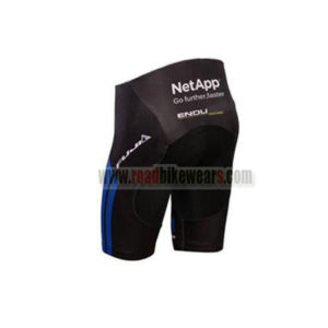2017 Team NetApp Biking Shorts Bottoms Black Blue