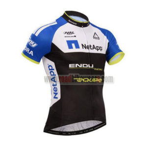 2017 Team NetApp Cycle Jersey Maillot Shirt Black Blue White