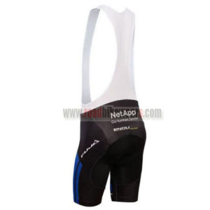 2017 Team NetApp Riding Bib Shorts Bottoms Black Blue