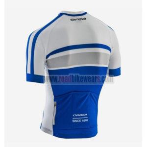 2017 Team ORBEA Biking Jersey Maillot Shirt White Blue