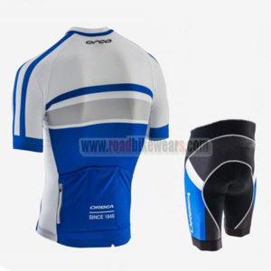 2017 Team ORBEA Biking Kit White Blue