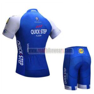2017 Team QUICK STEP Bike Kit Blue White