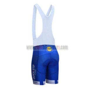 2017 Team QUICK STEP Riding Bib Shorts Bottoms Blue White