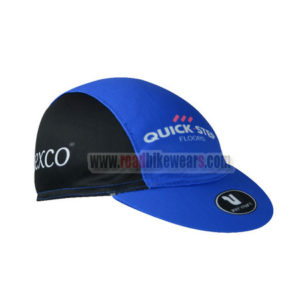 2017 Team QUICK STEP Riding Cap Hat Blue Black