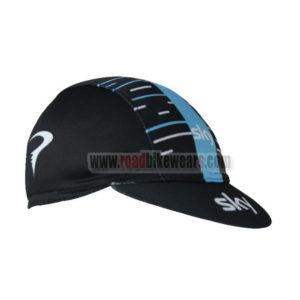 2017 Team SKY Cycling Cap Hat Black Blue