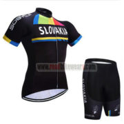 2017 Team SLOVAKIA Cycling Kit Black