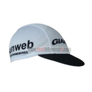 2017 Team Sunweb GIANT Riding Cap Hat White Black