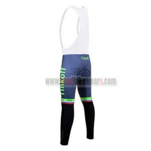 2017 Team Tinkoff Riding Bib Pants Tights Green