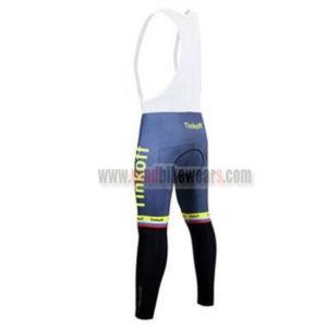 2017 Team Tinkoff Riding Bib Pants Tights Yellow