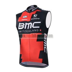 2015 Team BMC Riding Apparel Cycle Sleeveless Jersey Tank Top Maillot  Cycliste Red Black 22280e567