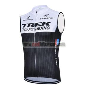 ba1fa9a9265 2015 Team TREK FACTORY RACING Riding Apparel Cycle Sleeveless Jersey Tank Top  Maillot Cycliste White Black