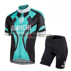 2016 Team BIANCHI MILANO Bicycle Kit Blue Black