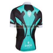 2016 Team BIANCHI MILANO Biking Jersey Maillot Shirt Blue Black