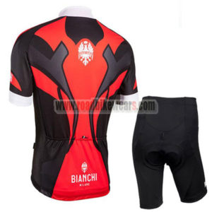 2016 Team BIANCHI MILANO Biking Kit Red Black