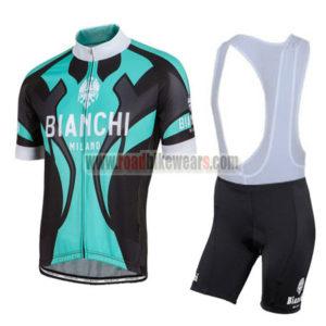 2016 Team BIANCHI MILANO Cycle Bib Kit Blue Black 21ba6a492