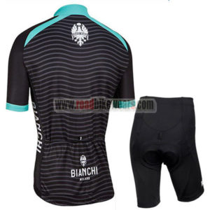2016 Team BIANCHI MILANO Riding Kit Black Blue