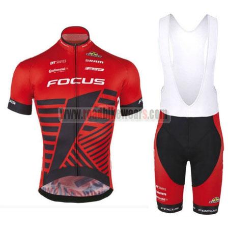 2016 Team FOCUS Pro Biking Uniform Cycle Jersey and Padded Bib ... 35953f2da