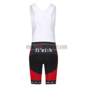 2016 Team FOCUS Riding Bib Shorts Bottoms Red Black