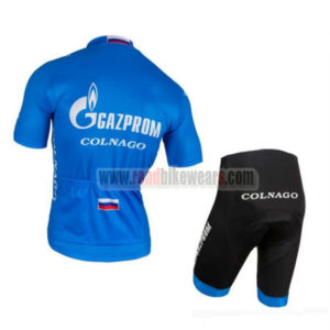 2016 Team GAZPROM COLNAGO Cycle Kit Blue