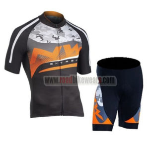 2016 Team NW Northwave Bike Kit Maillot Black Orange Grey