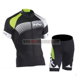 2016 Team NW Northwave Cycle Kit Black Green