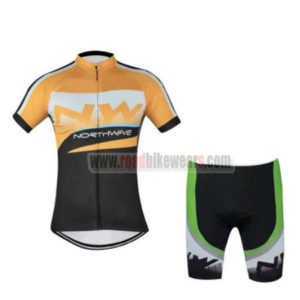 2016 Team NW Northwave Cycle Kit Yellow Black