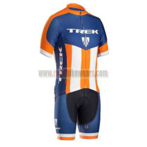 2016 Team TREK Cycling Kit Blue Orange